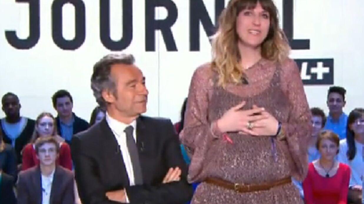 Daphné Bürki enceinte de son deuxième enfant