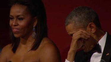Elle a fait pleurer Mister President