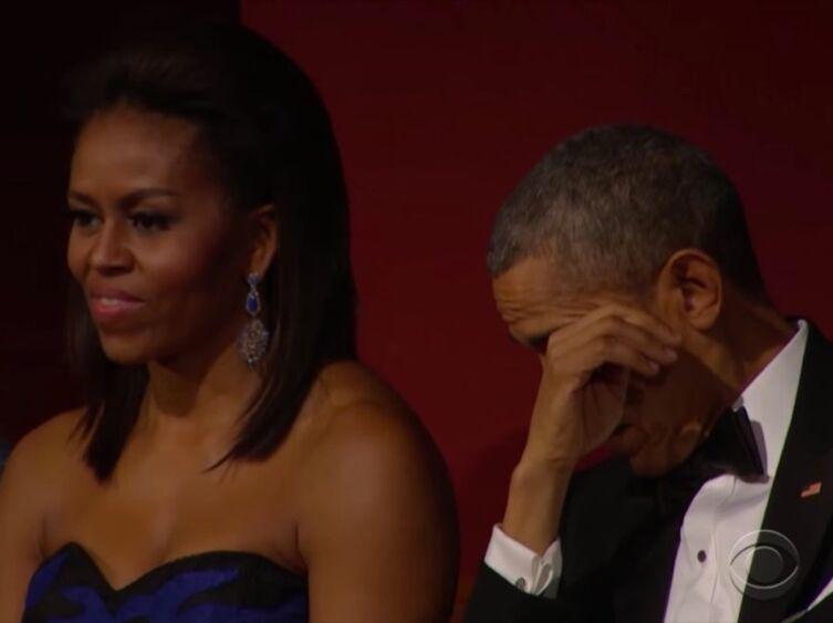VIDEO Emu par Aretha Franklin, Barack Obama ne peut retenir ses larmes