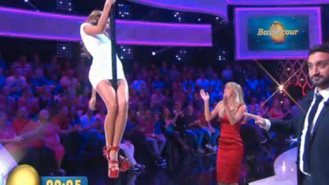VIDEO Enora Malagré et Nabilla font un concours de pole dance