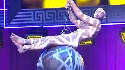 VIDEO Entièrement nu, le gagnant de l'Eurovision parodie Miley Cyrus
