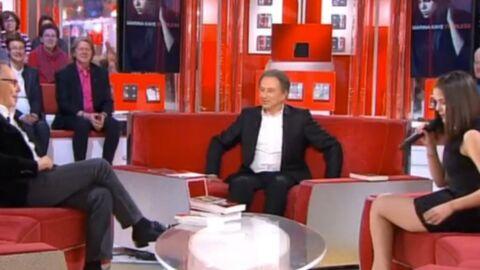 VIDEO Fabrice Luchini émoustillé par la robe trop courte de Marina Kaye
