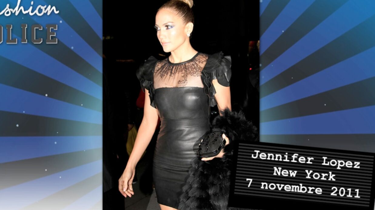 Fashion Police: ambiance cuir chez les people