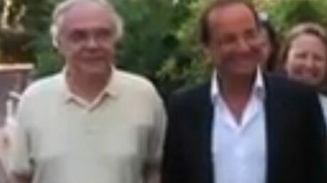 VIDEO François Hollande chez son père avec Valérie Trierweiler