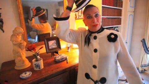 VIDEO Geneviève de Fontenay enlève son chapeau