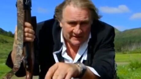 VIDEO Gérard Depardieu en chasseur flippant dans une publicité pour une montre