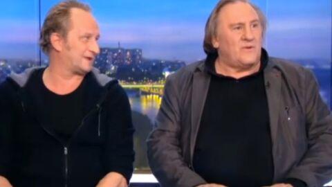 VIDEO Gérard Depardieu invente un nouveau verbe au JT de TF1