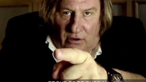 VIDEO Gérard Depardieu: Sa pub en russe hyper flippante