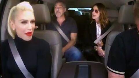 VIDEO Gwen Stefani, Julia Roberts et George Clooney (SUREXCITÉ) chantent, et c'est génial!