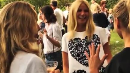 DIAPO Gwyneth Paltrow a invité ses copines à une garden party ultra-bobo
