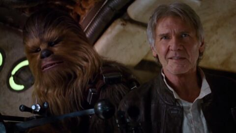 VIDEO Harrison Ford retrouve Chewbacca dans le nouveau teaser de Star Wars VII