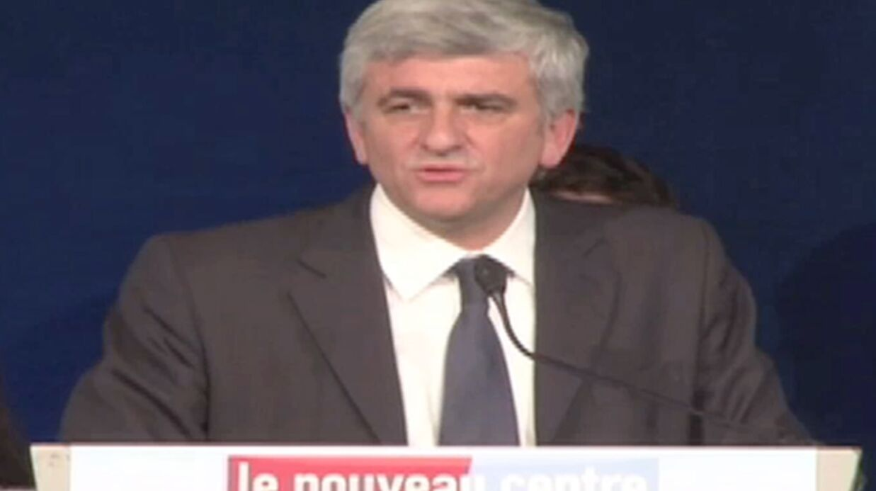 VIDEO La gaffe historique d'Hervé Morin