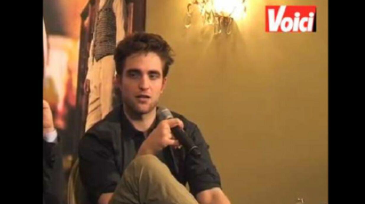 VIDEO Robert Pattinson raconte ses souvenirs de tournage
