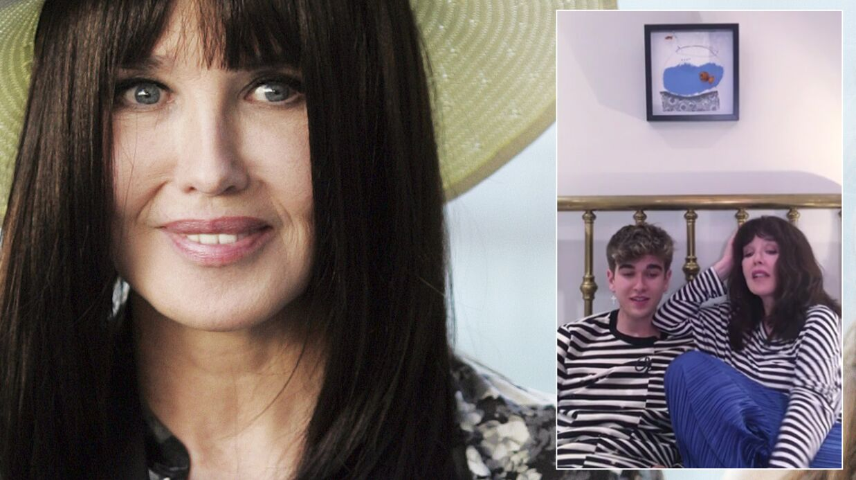 VIDEO Isabelle Adjani et son fils Gabriel-Kane chantent ensemble Pull Marine