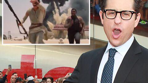 VIDEO J.J. Abrams diffuse un extrait inédit du prochain Star Wars