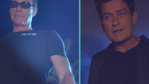 VIDEO Jean-Claude Van Damme et Charlie Sheen réunis dans un clip électro