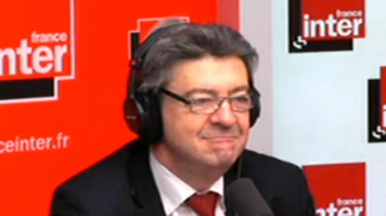 Jean-Luc Mélenchon grand fan de Carla Bruni