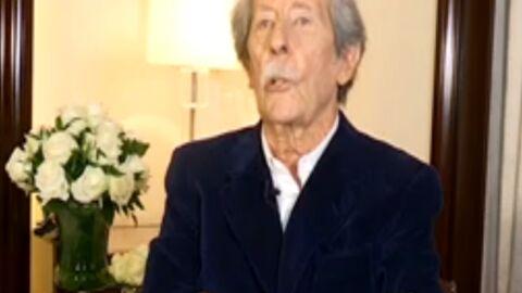 VIDEO Jean Rochefort dément vouloir mettre fin à sa carrière