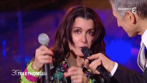 VIDEO Jenifer: les larmes aux yeux, elle met aux enchères un objet spécial pour le Téléthon