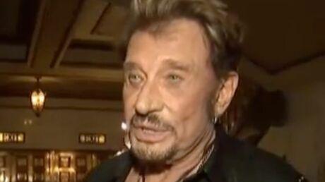 VIDEO – La réponse de Johnny au fisc: «Foutez-moi la paix!»
