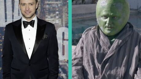 VIDEO Déguisé en citron vert, Justin Timberlake est méconnaissable