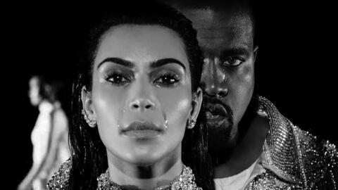 VIDEO Kanye West fait pleurer Kim Kardashian dans son nouveau clip