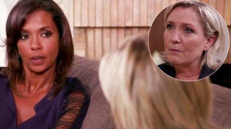 VIDEO Karine Le Marchand à Marine Le Pen: «Si vous êtes élue, je dois faire ma valise?»