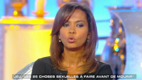 VIDEO Karine Le Marchand: plan à trois, sextoy… elle se lâche!