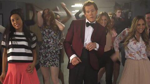 VIDEO Kevin Bacon fait renaître Footloose