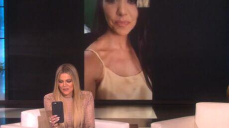 VIDEO Quelle est la Kardashian qui se lamente le plus? Khloé interroge sa sœur Kourtney à la télé