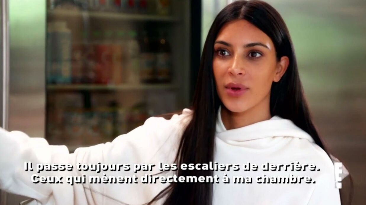 VIDEO Kim Karda­shian : en panique, elle croit revivre son agres­sion quand Kanye West rentre à la maison