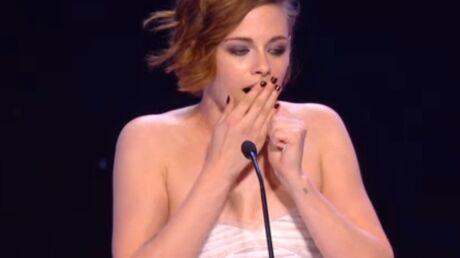 Kristen Stewart a failli s'endormir aux César et pense avoir énervé JoeyStarr