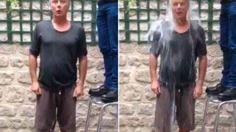 L'émouvant Ice Bucket Challenge de Franck Dubosc en hommage à son défunt père