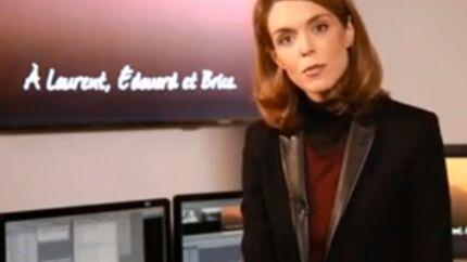 VIDEO Très émue, Julie Andrieu rend hommage à ses amis disparus dans le crash de Dropped