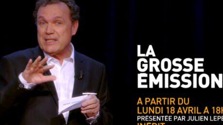 VIDEO La bande-annonce de la nouvelle émission de Julien Lepers dévoilée