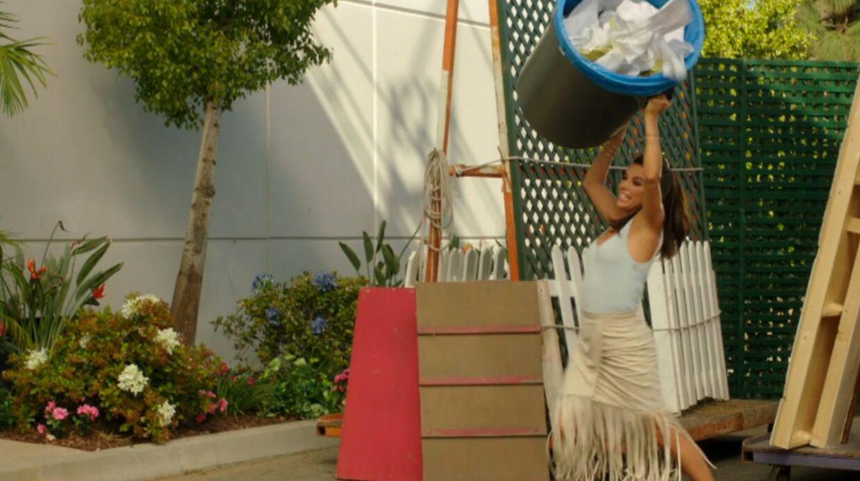 VIDEO Eva Longoria en star de soap à bout de nerfs dans un extrait de sa nouvelle série, Telenovela