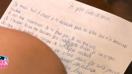 Secret Story 5: Marie répond à la lettre d'amour de Zelko