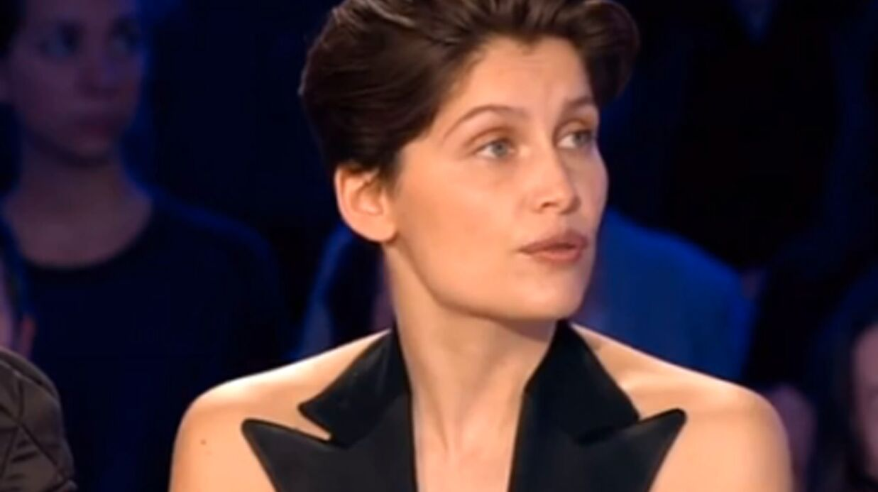 VIDEO Laeti­tia Casta prend la défense de Julie Gayet face à Laurent Ruquier
