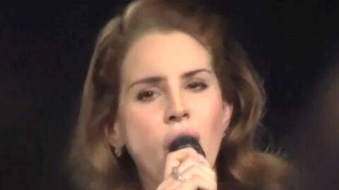 VIDEO Lana Del Rey: son tout dernier live à Hollywood