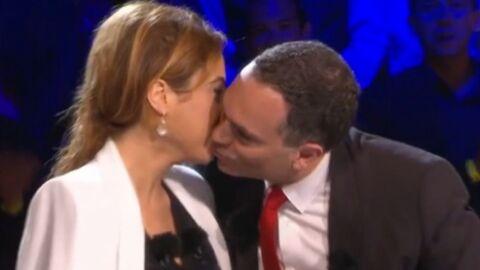VIDEO Le baiser gênant de Léa Salamé et Yann Moix dans ONPC à Cannes
