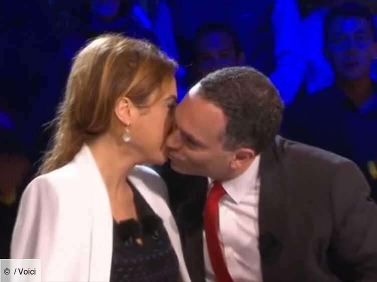 Video Le Baiser Genant De Lea Salame Et Yann Moix Dans Onpc A Cannes Voici