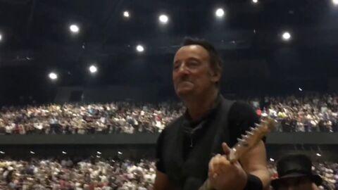 VIDEO Bruce Springsteen: son concert à Paris interrompu après une coupure d'électricité