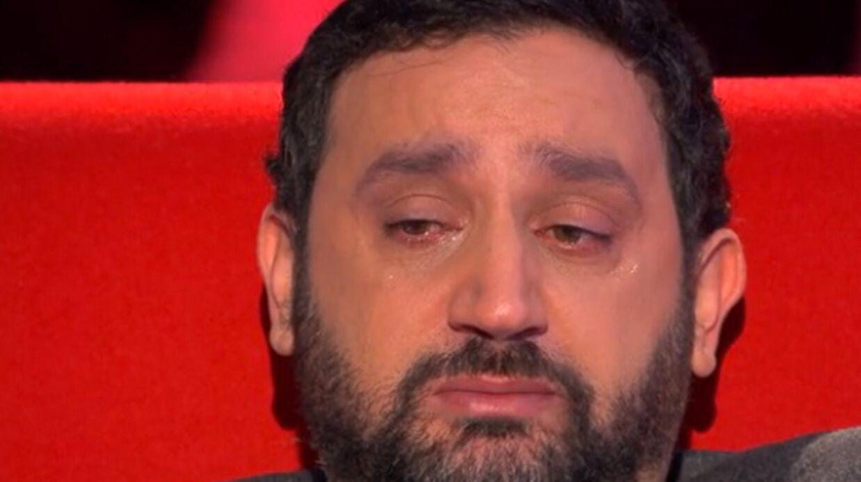 VIDEO Cyril Hanouna en larmes en repensant à sa grand-mère disparue