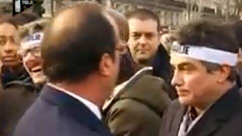 VIDEO François Hollande: ciblé par un pigeon, il fait hurler de rire l'équipe de Charlie hebdo