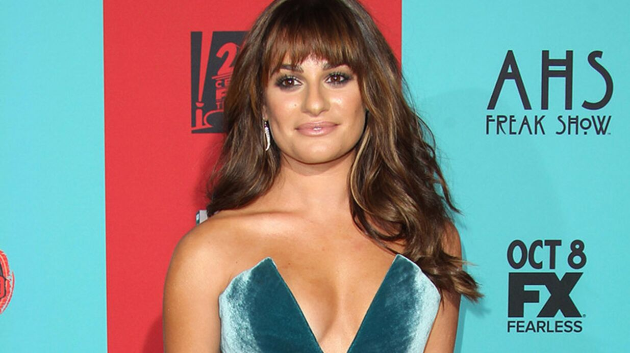 VIDEO Lea Michele a vomi en chan­tant La Reine des neiges