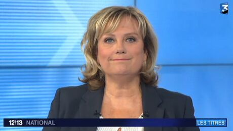 VIDEO France 3 diffuse par erreur les coulisses du JT de Catherine Matausch