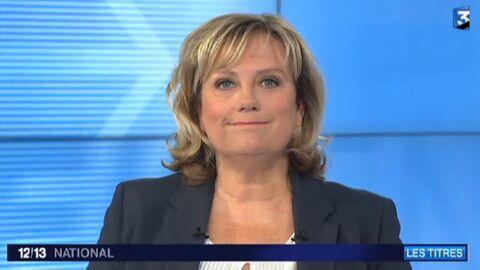VIDEO France 3 diffuse par erreur les coulisses du JT de Catherine Matausch