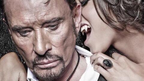 VIDEO Johnny Hallyday: son étonnant shooting en «Dracula des temps modernes»
