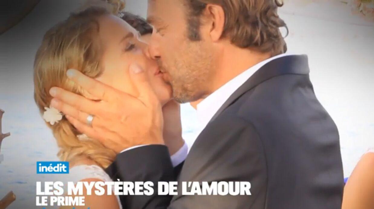VIDEO Les premières images du mariage d'Hélène et Nicolas dans Les Mystères de l'amour