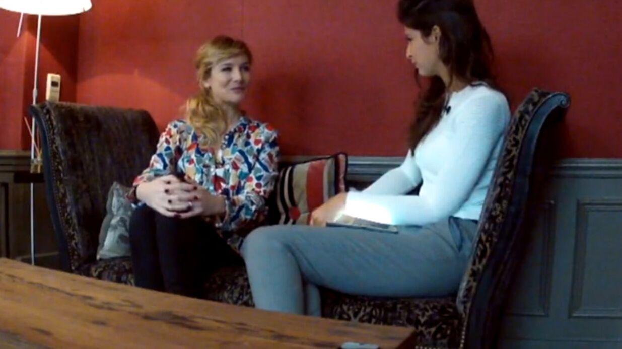 VIDEO Louise Ekland balance sur Roch Voisine et Samuel Le Bihan